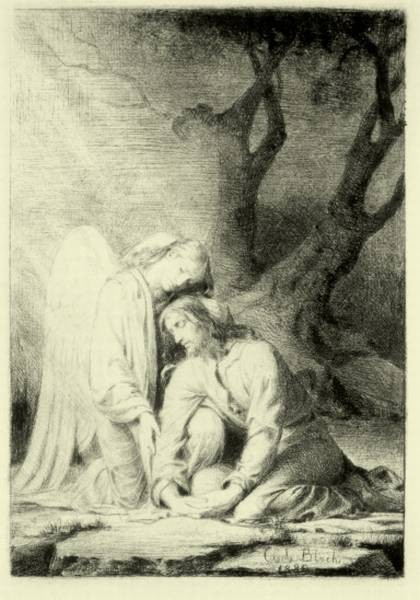 Carl Heinrich Bloch Christ in Gethsemene